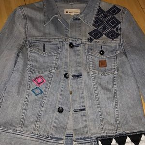 Roxy denim jacket size Small